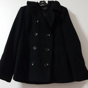 EUC black pea coat